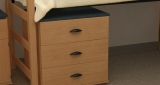 "Three-Drawer Dresser - 30""w x 24""d x 30""h"