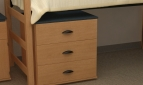 "Three Drawer Dresser - 30""w x 24""d x 30""h"