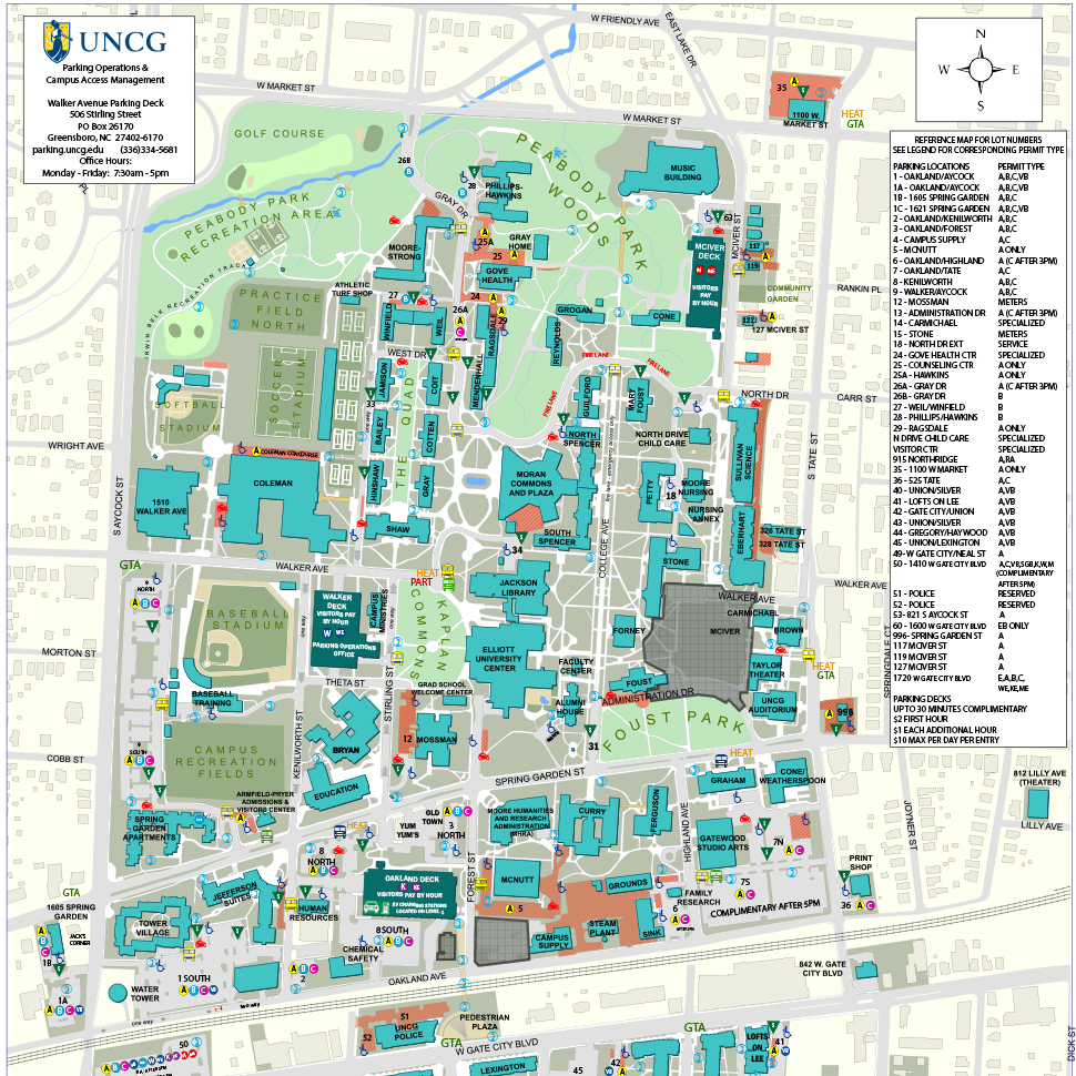 Campus Parking Map One Campus One Map 2018-2019 - Housing ... on charlotte campus map, maine campus map, searchable unc campus map, wilmington uncw campus map, college of charleston campus map, university of oklahoma campus map, u of r campus map, u of i campus map, guilford college campus map, duke university campus map, maryland campus map, unc chapel hill campus map, unc building map, michigan campus map, north ga tech campus map, greensboro college campus map, unc wilmington campus map, guilford tech campus map, appalachian state university campus map, ecu campus map,
