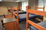 A Temporary Room in Phillips/Hawkins.