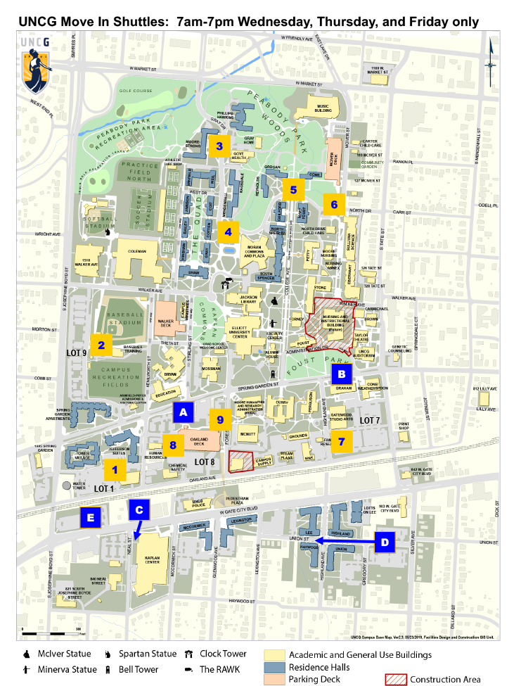 Move-In Parking Map