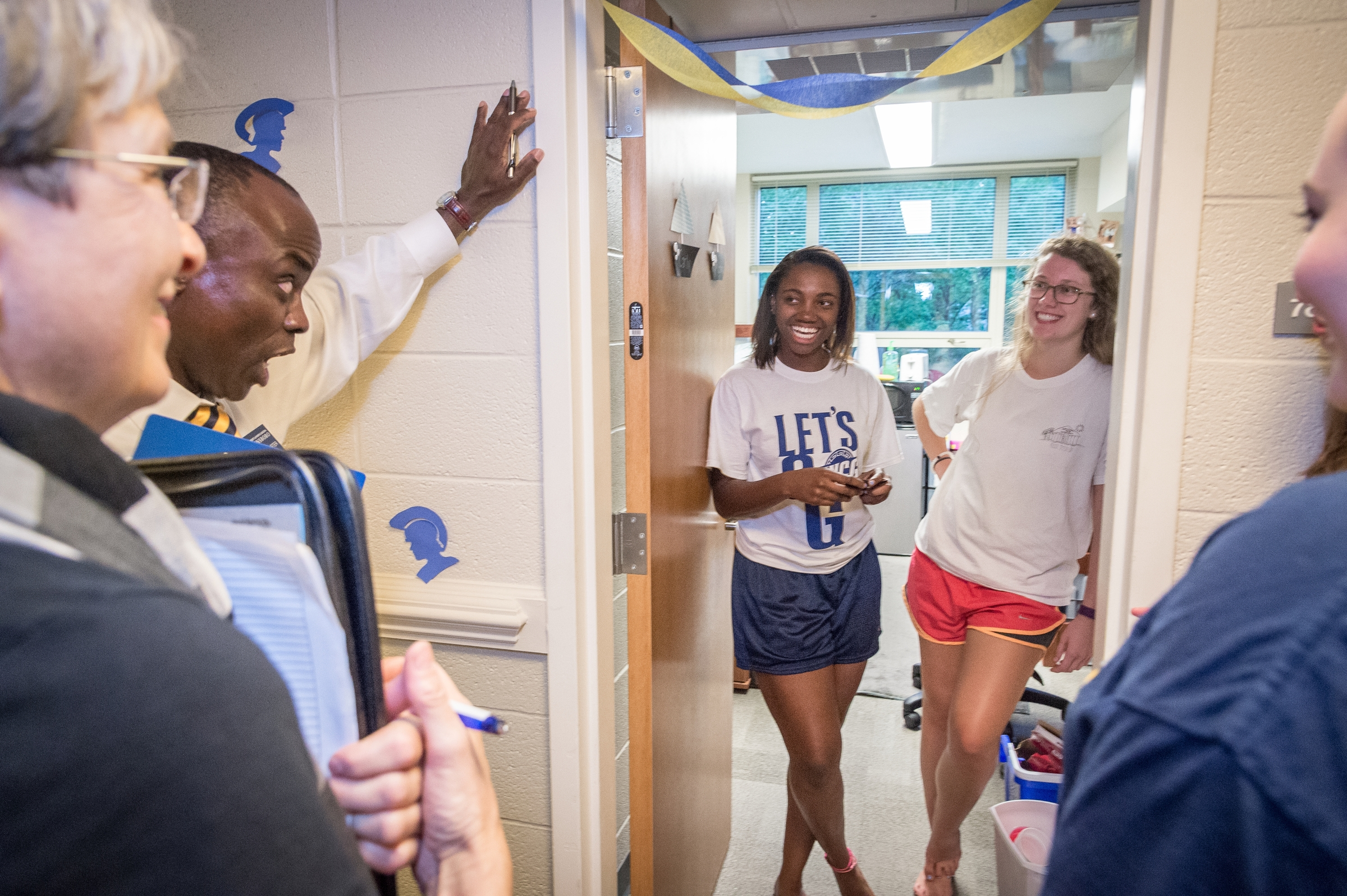 House Calls, where students meet faculty and staff in their homes