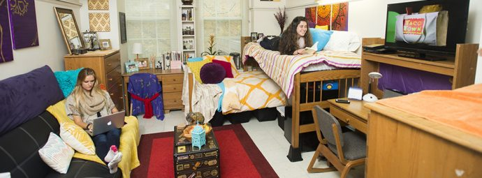 Special interest housing creates a close-knit residence hall environment