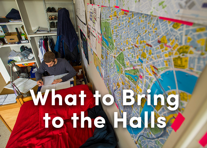 what to bring to campus with you