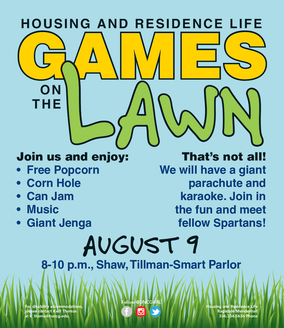 HRL Games on the Lawn