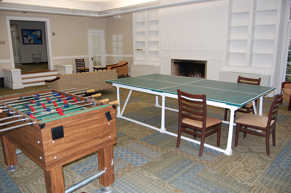 The game room in Guilford
