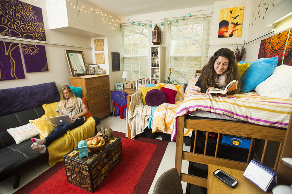 Inside Guilford Residence Hall