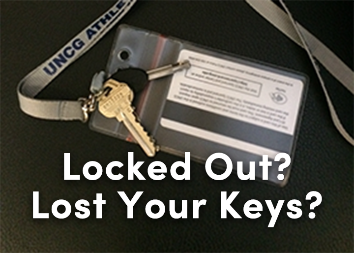 Lost your key? What to do.