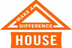 Make a Difference House house logo