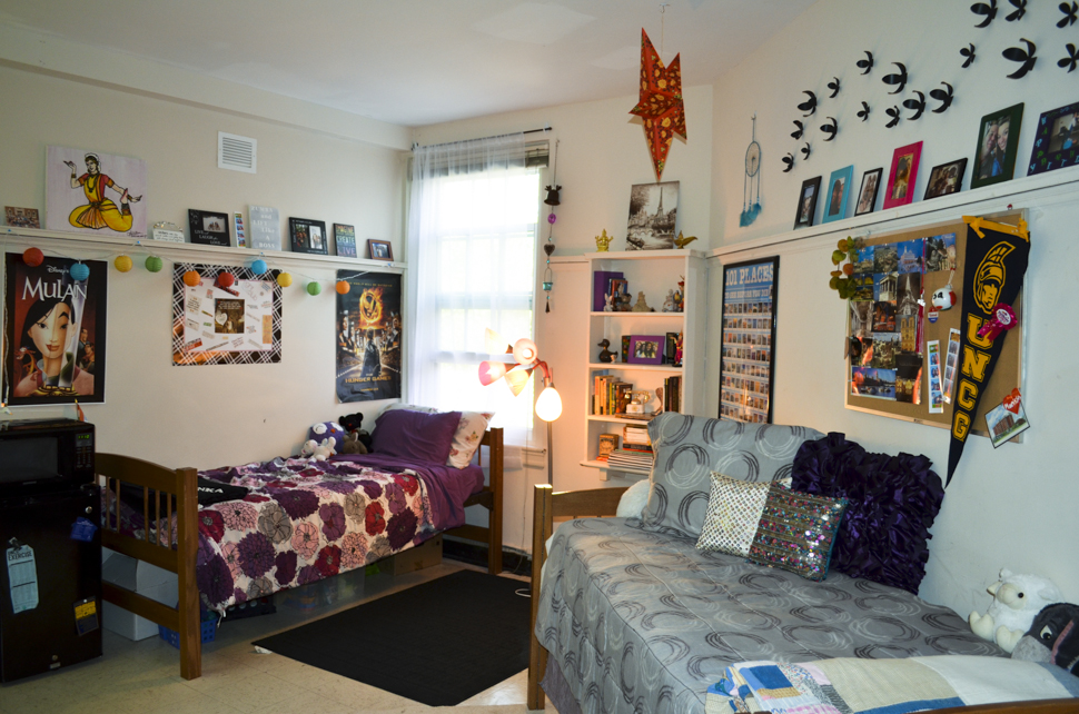 Inside Mary Foust Residence Hall