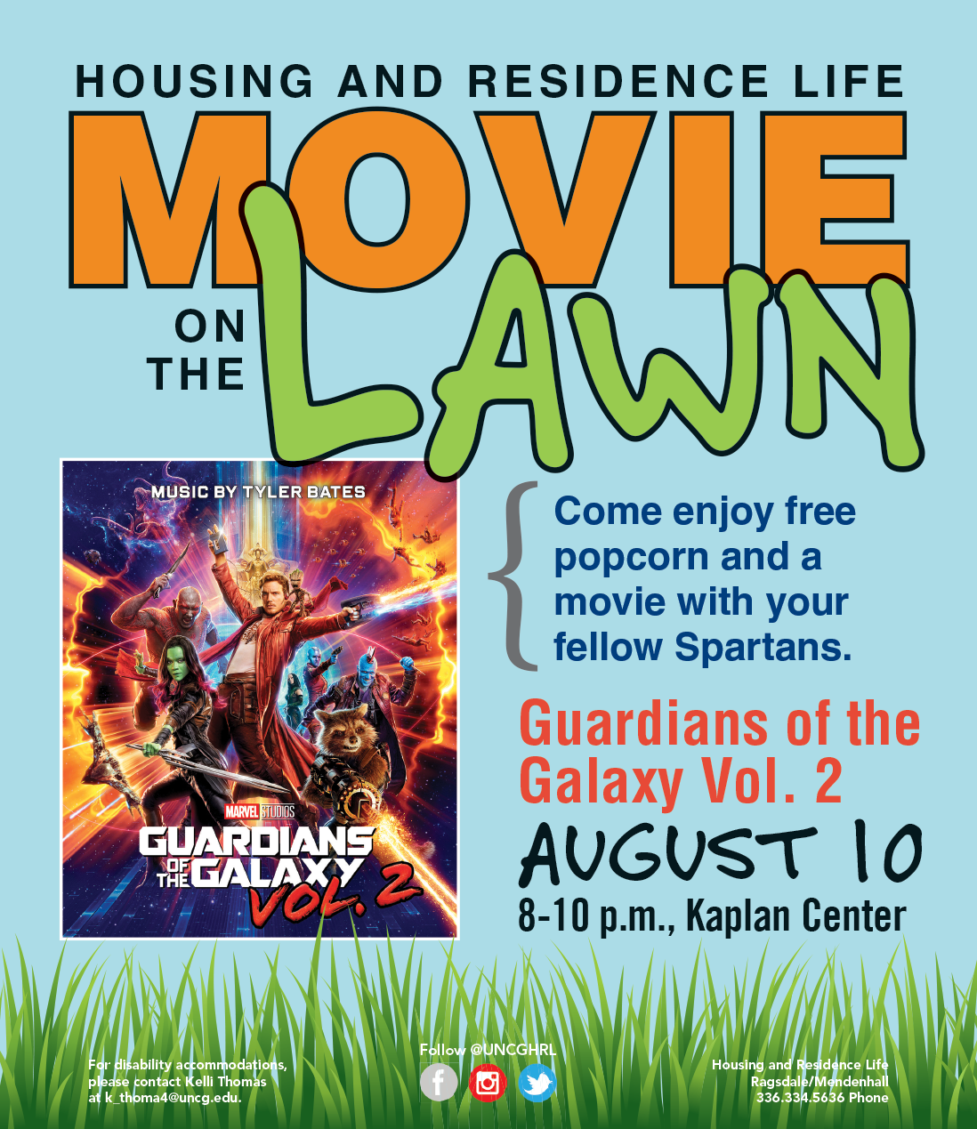 movies on the lawn 2017 - Housing and Residence Life at UNCG
