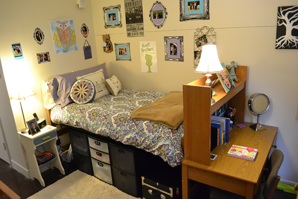 A typical room in Ragsdale/Mendenhall
