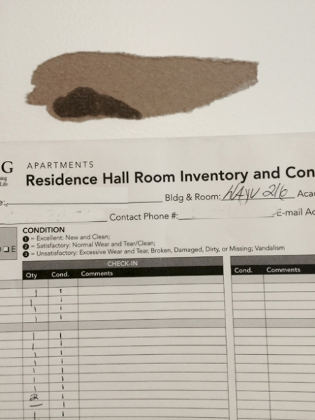 Room Condition Reports Rcrs Housing And Residence Life