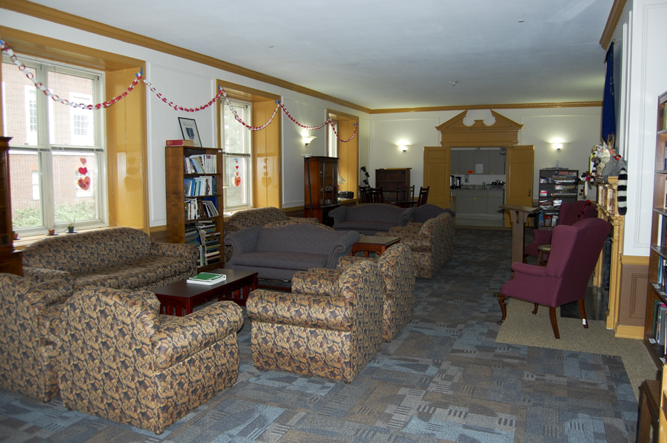 Inside South Spencer Residence Hall